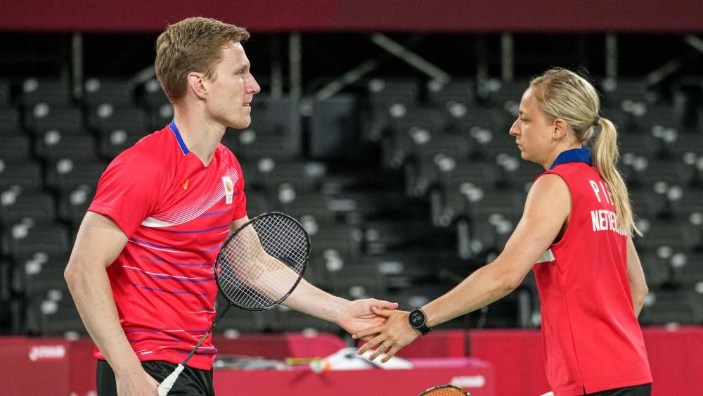Badmintonster Selena Piek wint in dubbel, verliest mix met Robin Tabeling
