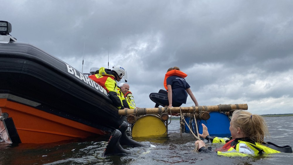 Blaricumse jongeren helpen KNRM komende zomer als strandwacht