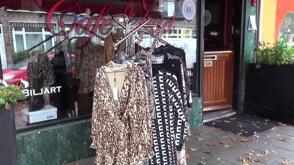 Hilversums café ook deze 'lockdown' omgetoverd tot kledingwinkel