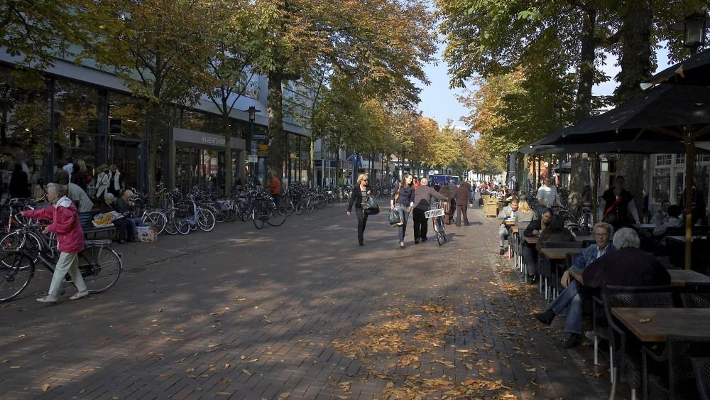 Langverwachte 'druktemeter' Hilversums centrum komt volgende maand
