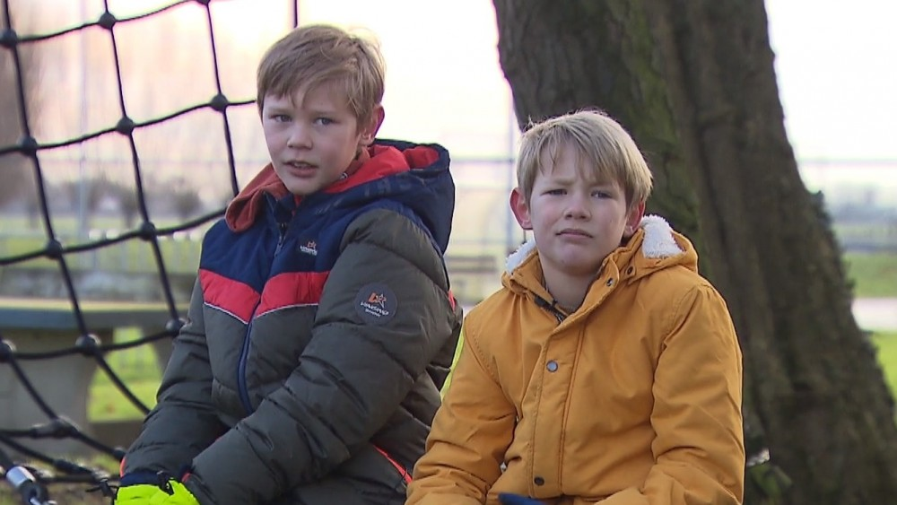 Broers Nyck en Teun weten gemeente Weesp te overtuigen voor nieuw klimbos