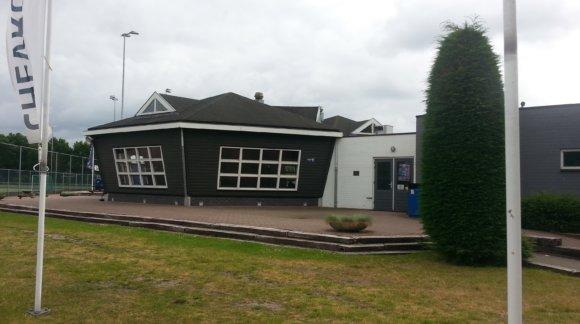 Clubhuis van de Huizer Hockey Club