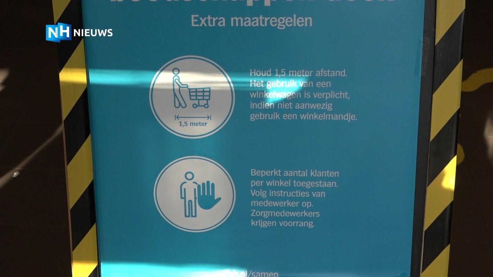 Aso-gedrag bij supermarkt door onbegrip over coronamaatregelen