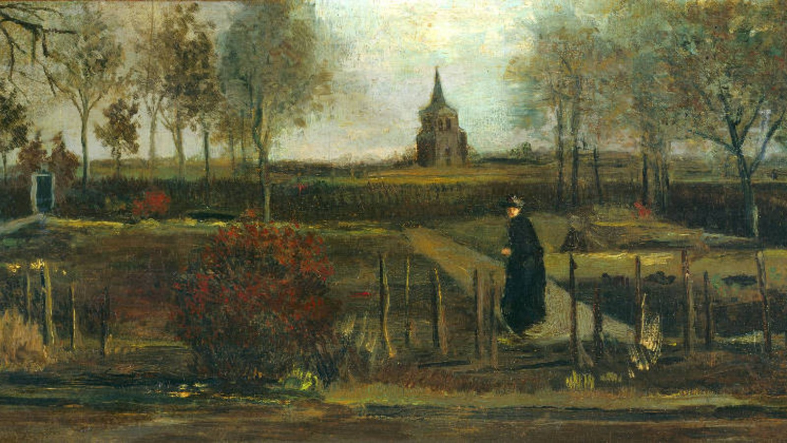 Foto's opgedoken van uit Singer Laren gestolen Van Gogh-schilderij