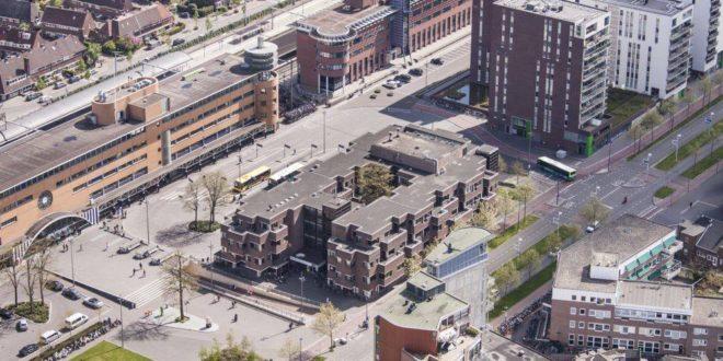 Luchtfoto stationsgebied Hilversum