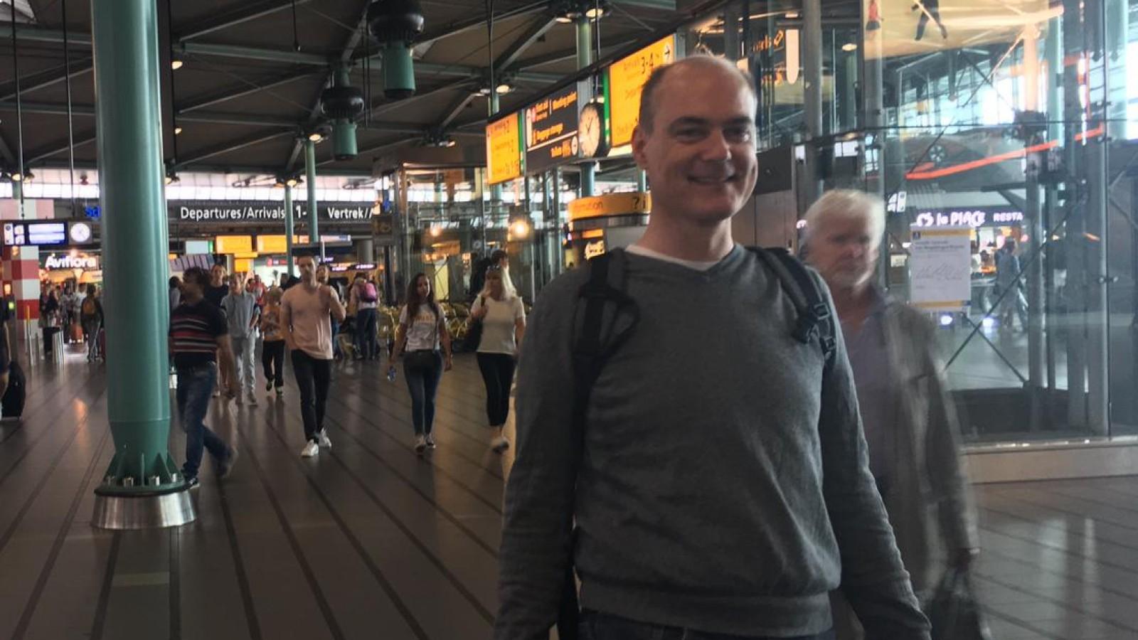 Politie zoekt vanavond naar vermiste Weesper Pieter Houtekamer (47) in Diemerbos