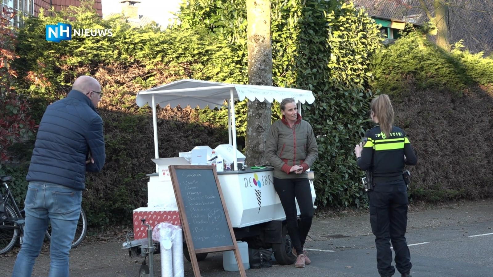 Goedbedoeld Bussums steuntje in de rug snel afgelopen: plots staan er agenten op de stoep