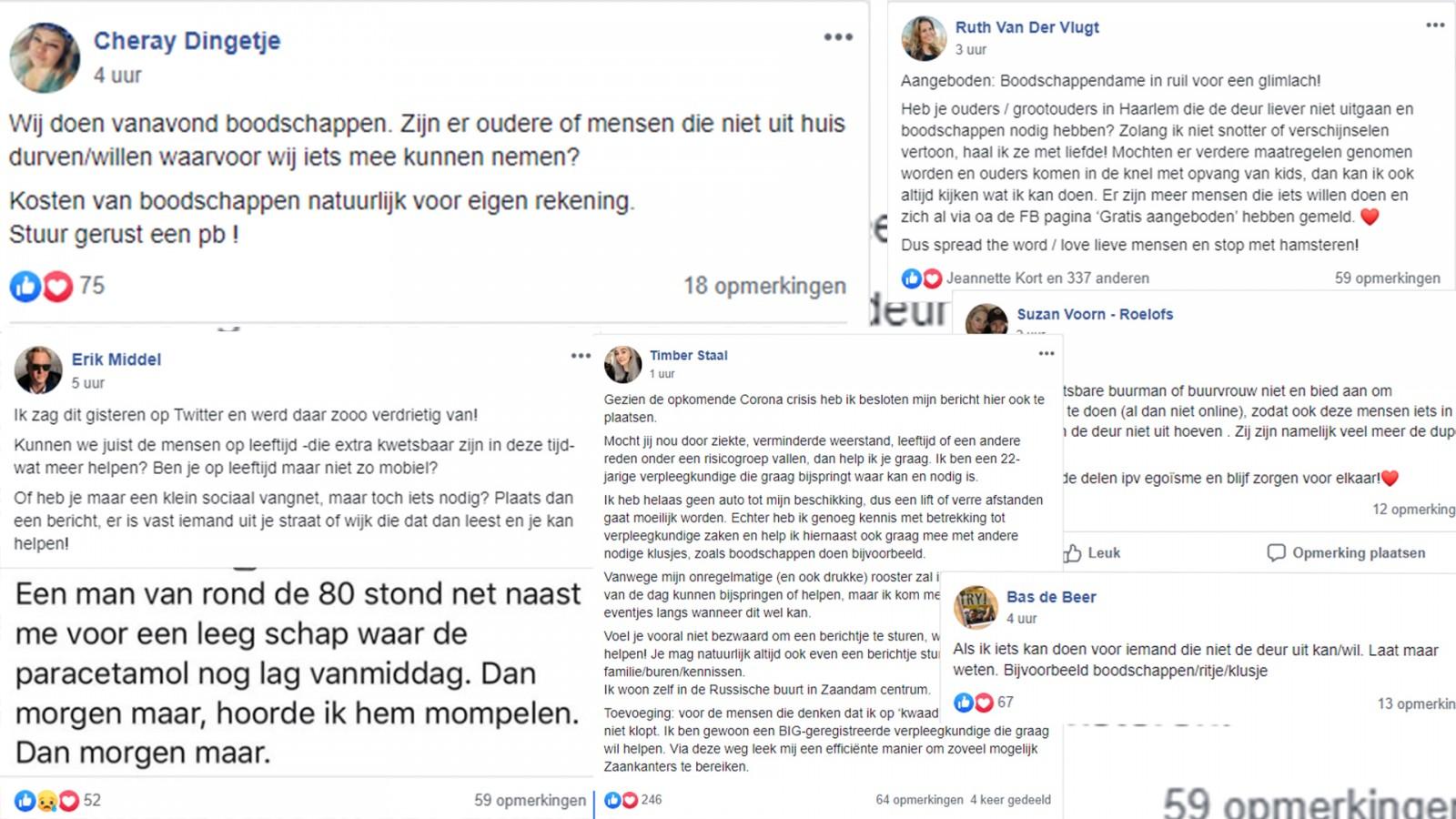 Heel (Noord-)Holland Helpt! Social media in de bres voor ouderen tijdens het coronavirus