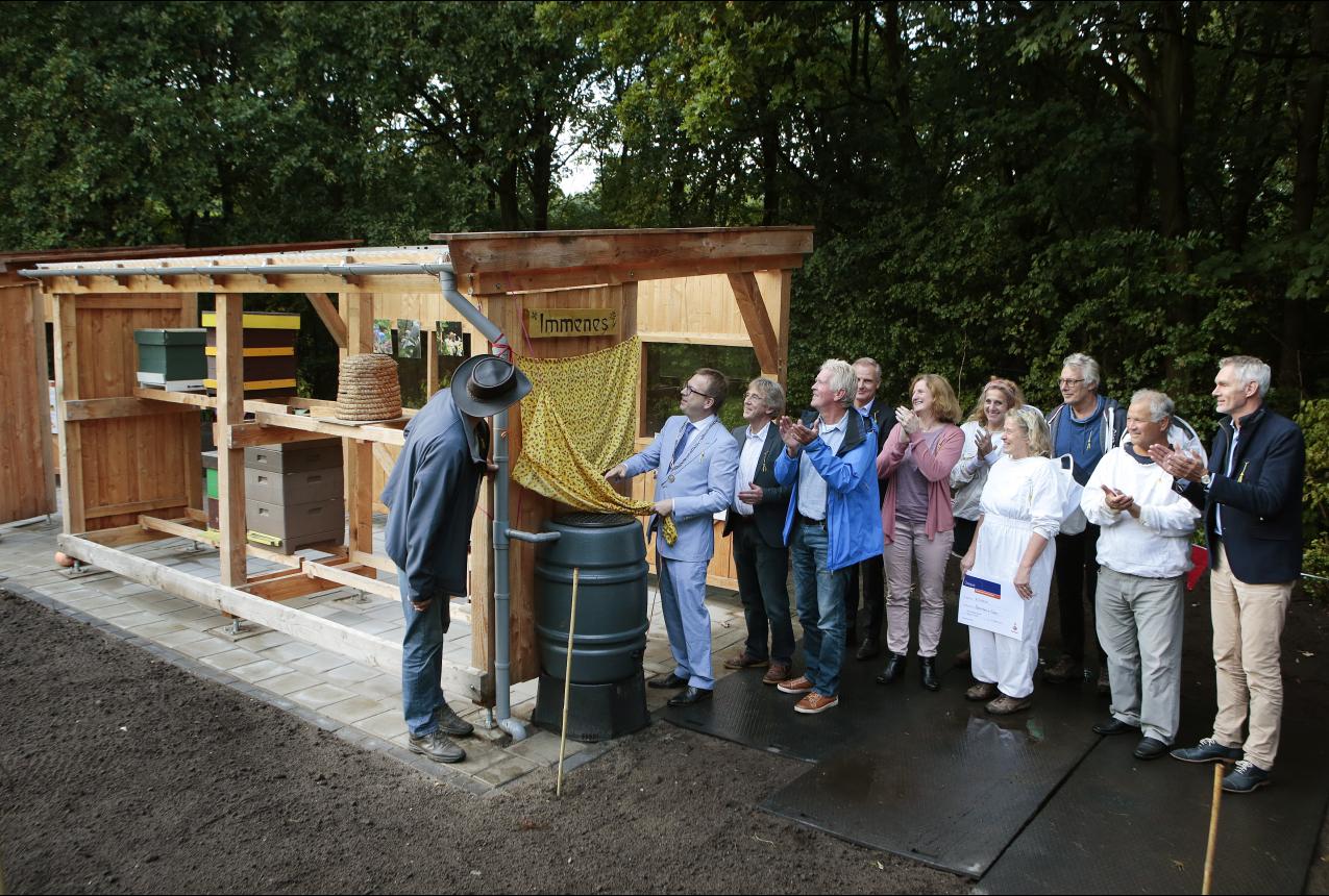 De opening door de burgemeester (Foto: Studio Kastermans)