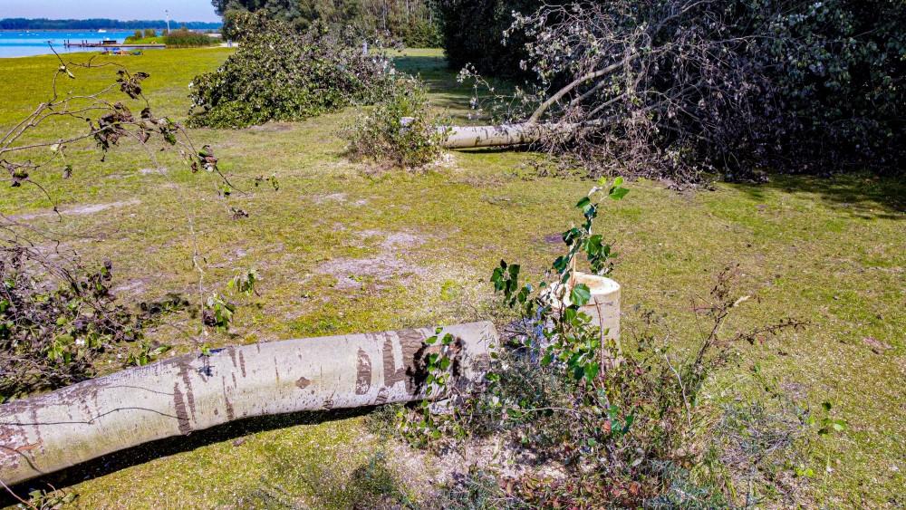 Blaricum sluit strandje 's nachts af na reeks vernielingen