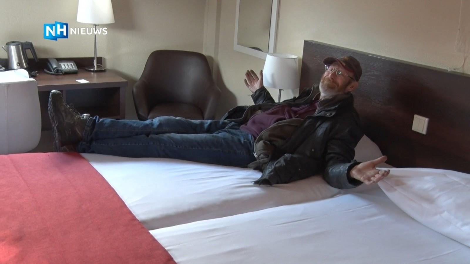 Het voordeel van corona: Hilversumse daklozen mogen tijdelijk in hotel logeren