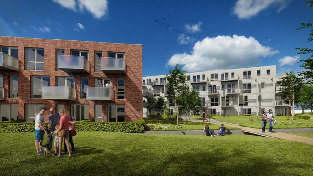 Nieuwe Hilversumse wijk krijgt er 65 huurappartementen bij: bouw start dit voorjaar