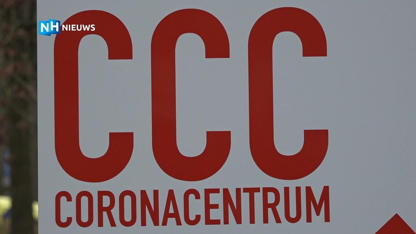 """Opening coronacentrum; """"Het wordt geen gezellige boel, ontvangst door mensen in pakken"""""""