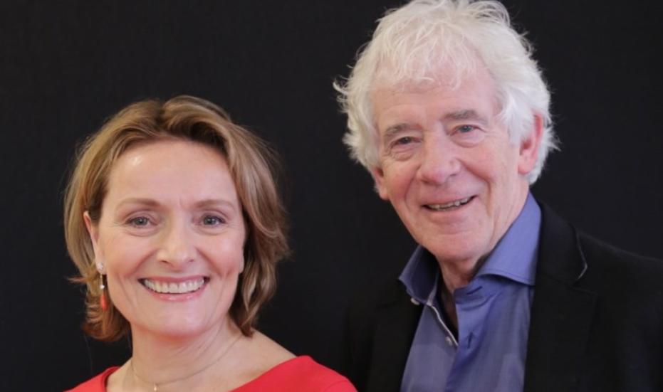 Karin van Hunnik en Peter Calis (Foto: Larens Behoud)