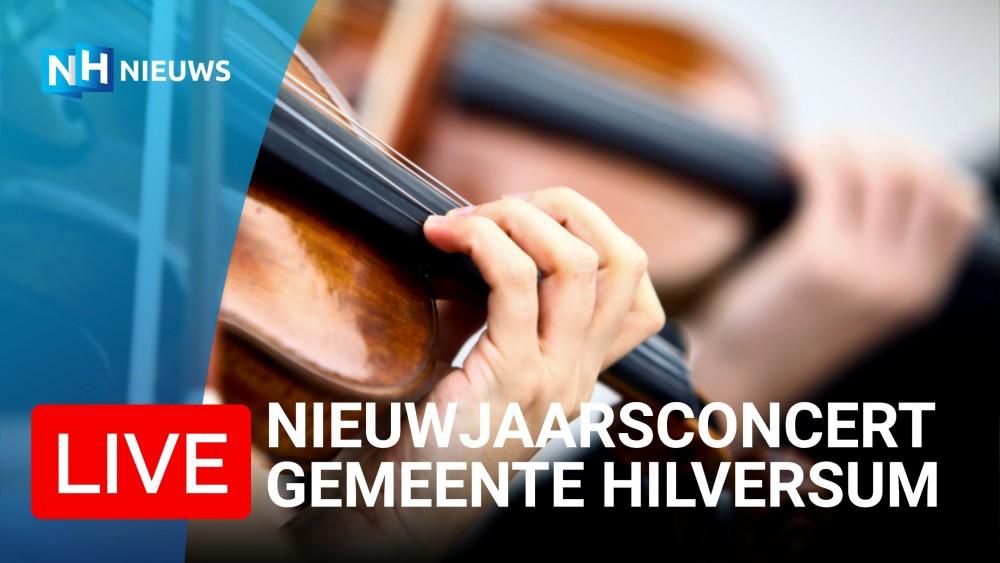 STRAKS LIVE: het nieuwjaarsconcert van de gemeente Hilversum