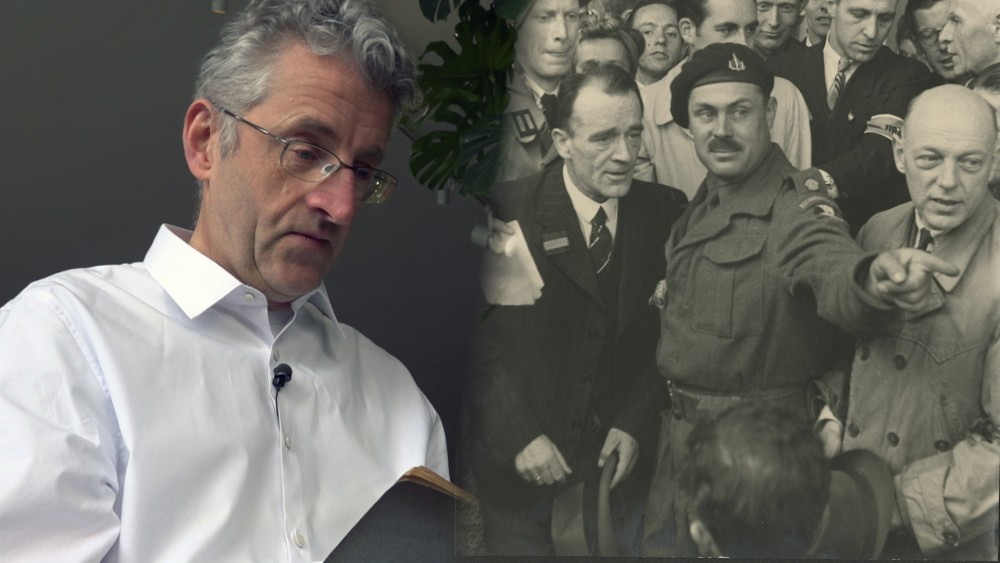 """Kleinzoon over zijn opa: """"Liefde voor Duitse taal was reden om het verzet in te gaan"""""""
