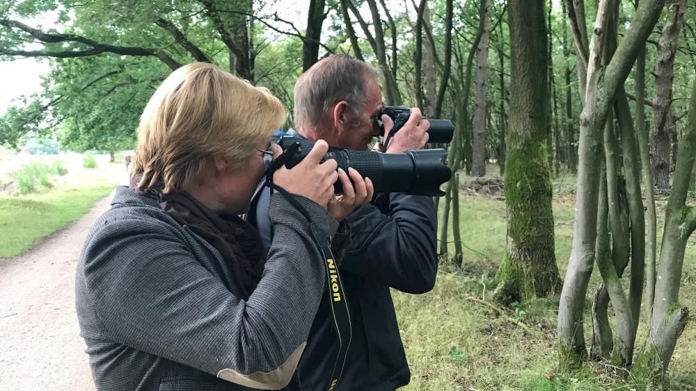 """Chris en Irma maken schitterende foto's in Hilversumse natuur: """"De vos is de kers op de taart!"""""""