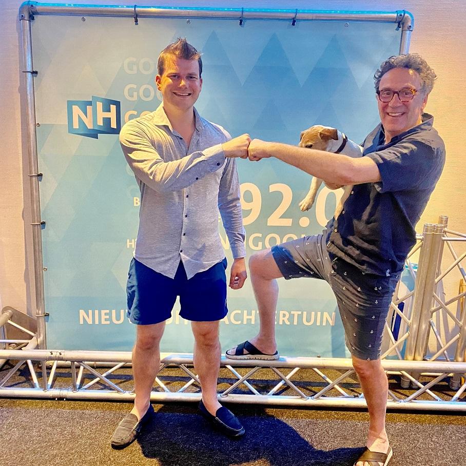 Voormalig politicus Elias van Hees in De Platenkast van...
