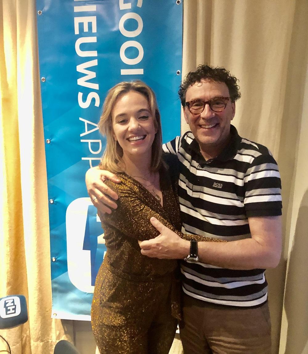 Sazz Leonore zondag bij Peter Douglas in De Platenkast van... (Foto is gemaakt voor Corona).