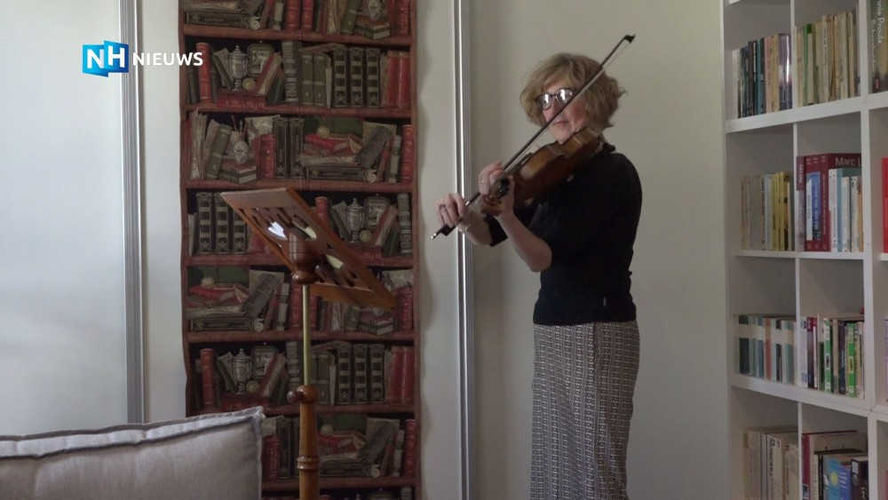 Orkest maakt muziek van het verhaal van violiste Ewa Wagner