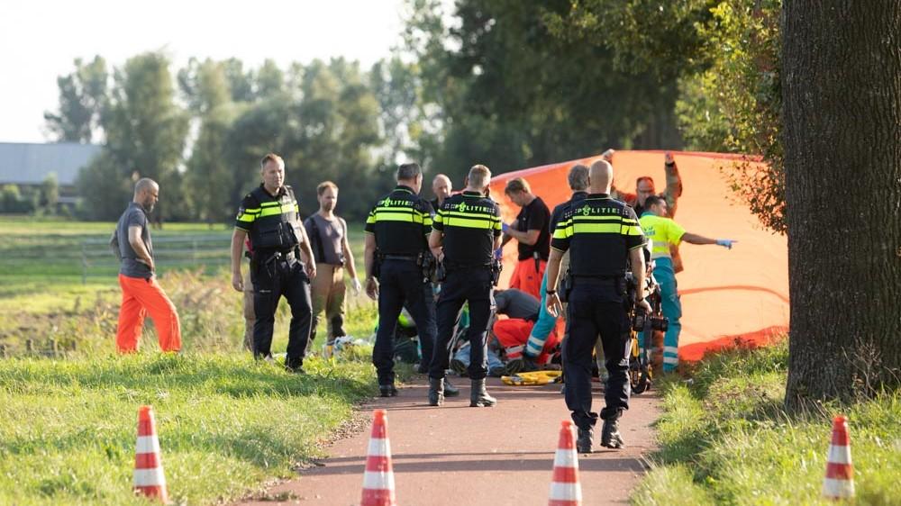 Bewusteloos in sloot gevonden Hilversumse wielrenner overleden