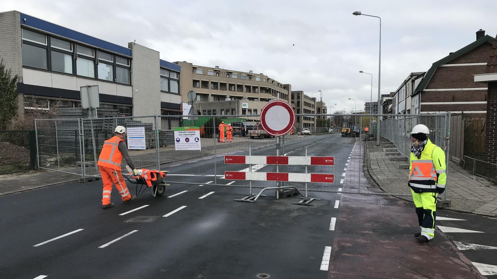Bouw tunnel voor snelle bus door 't Gooi van start, wel extra maatregelen rondom corona