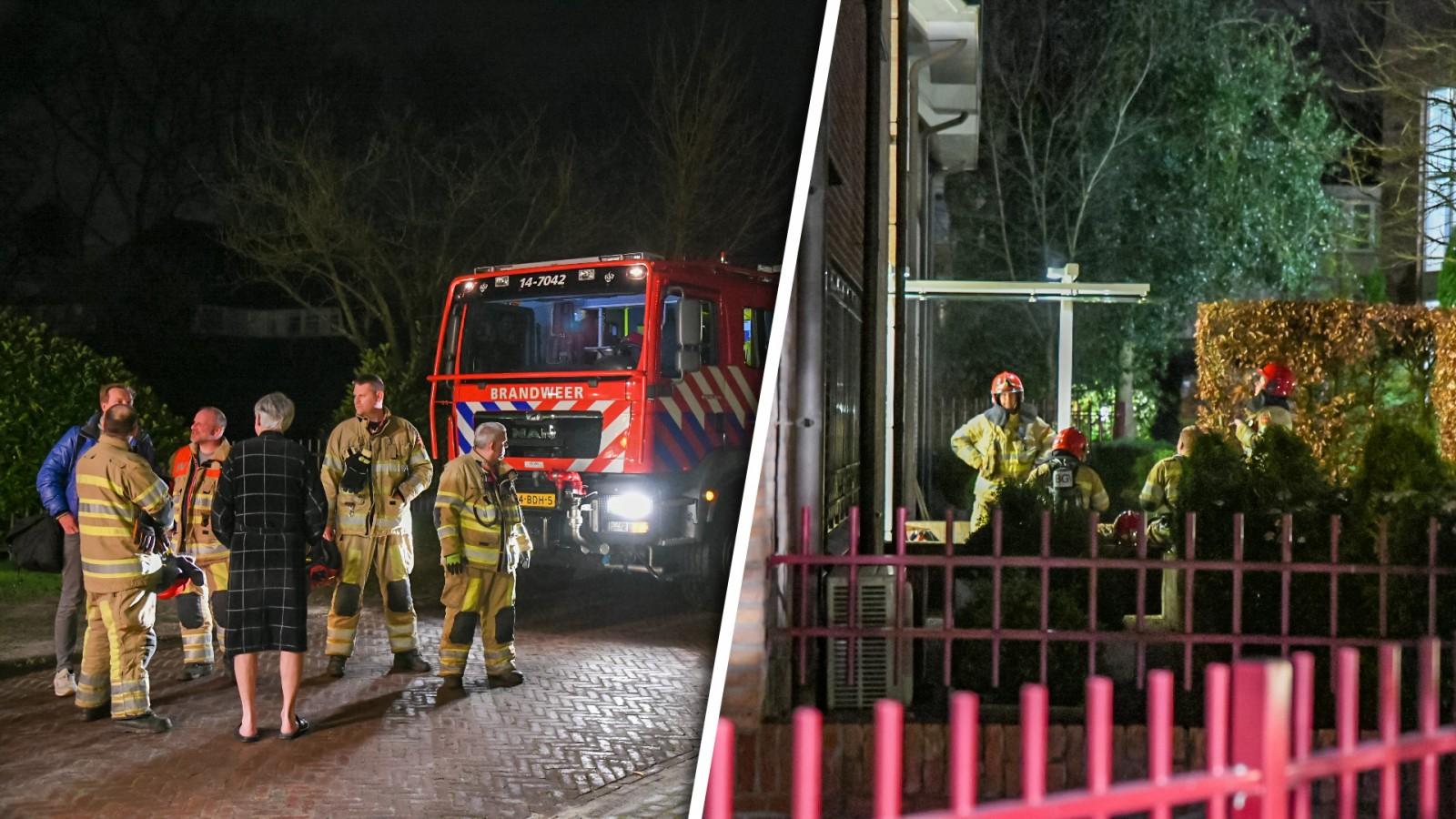 Kleine brand in appartement Laren: buren tijdelijk op straat