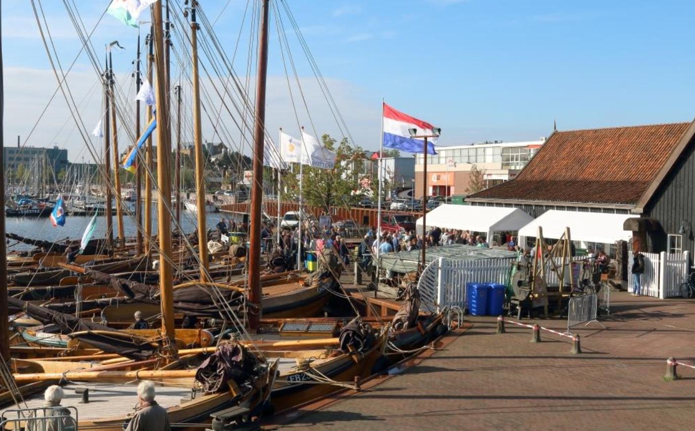De organisatoren verwachte 20 botters op de havendag
