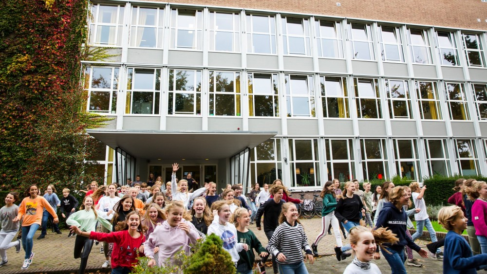 Bussumse en Naarder middelbare school willen fuseren en nieuwe school starten