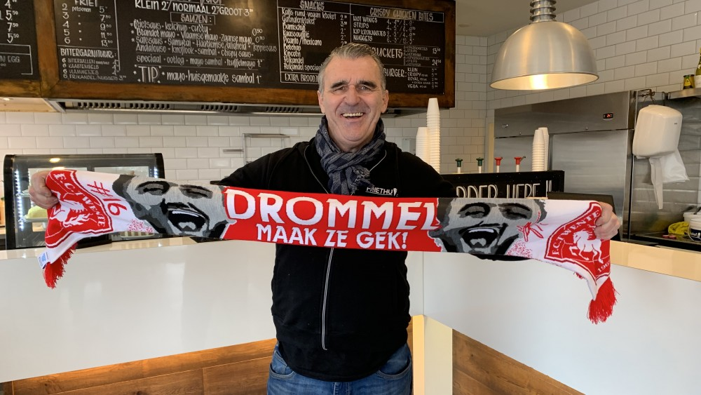Kerverse Oranje-keeper Joël Drommel kan rekenen op steun van het thuisfront
