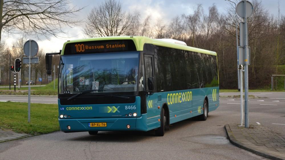 Gooise buspassagiers mogen weer door de voordeur de bus in