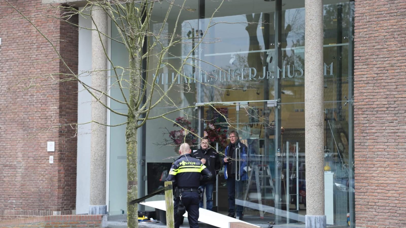 Flinke schade na inbraak in Singer Museum Laren, nog niets bekend over buit