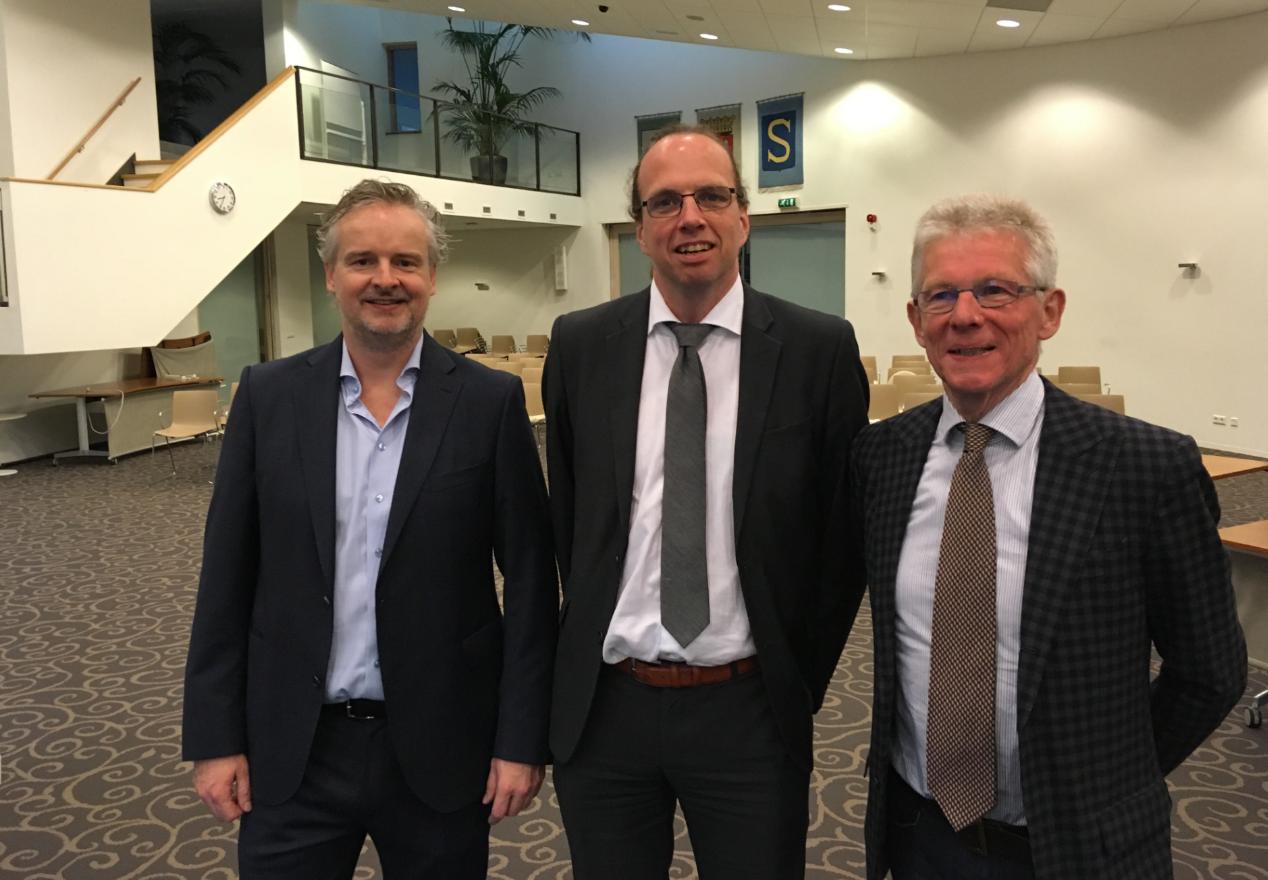 v.l.n.r. Erwin van Dalen, Sven Lankreijer en Jan van Katwijk