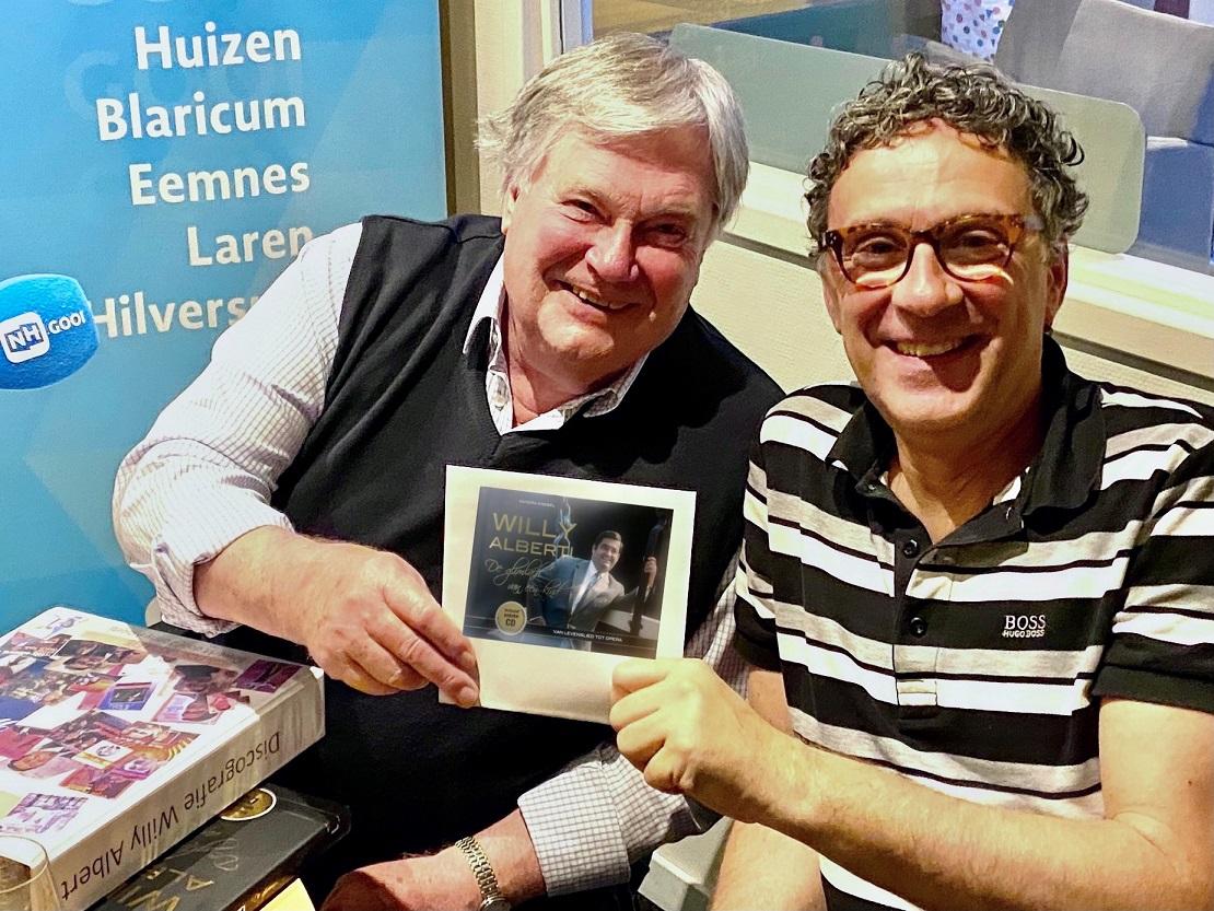 Tonny Alberti, zondag het tweede deel over zijn vader Willy Alberti in De Platenkast van...
