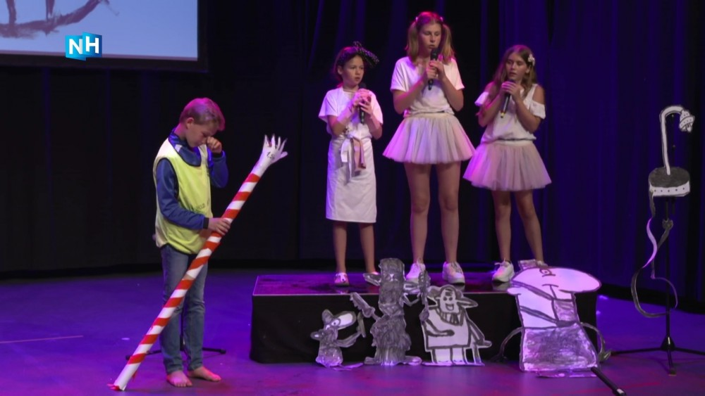 'Coronaproof on stage': de musical van de Hilversumse Jan van Rijckenborghschool