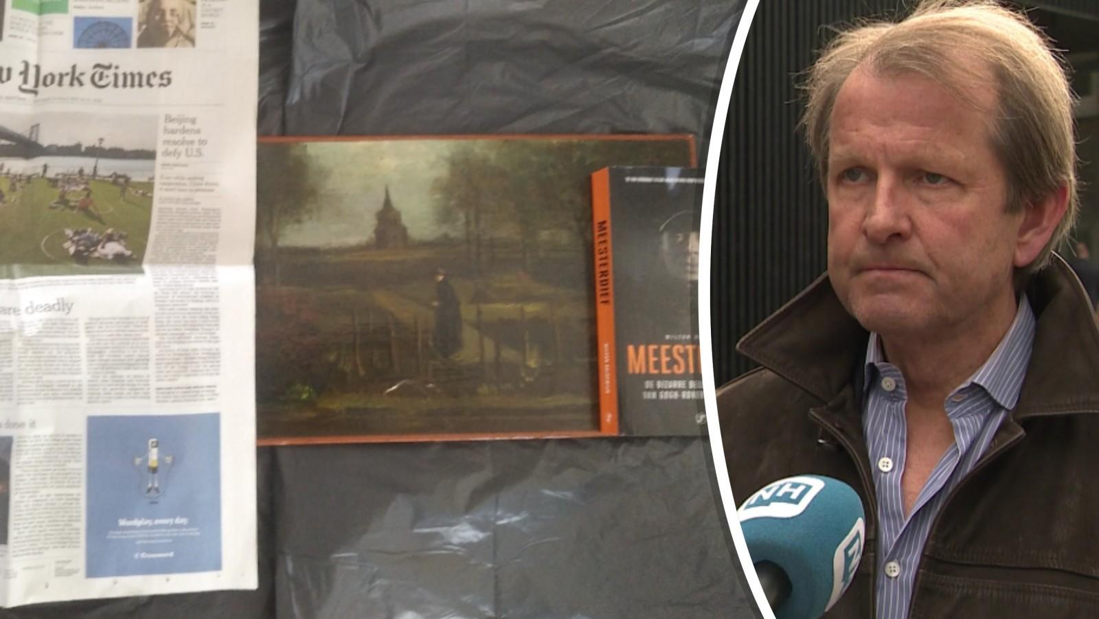 Museumdirecteur Singer Laren hoopvol over opgedoken foto's geroofde Van Gogh
