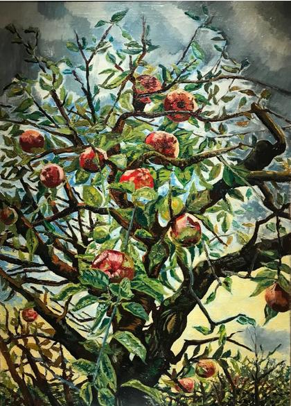 Charley Toorop, Takken met appels