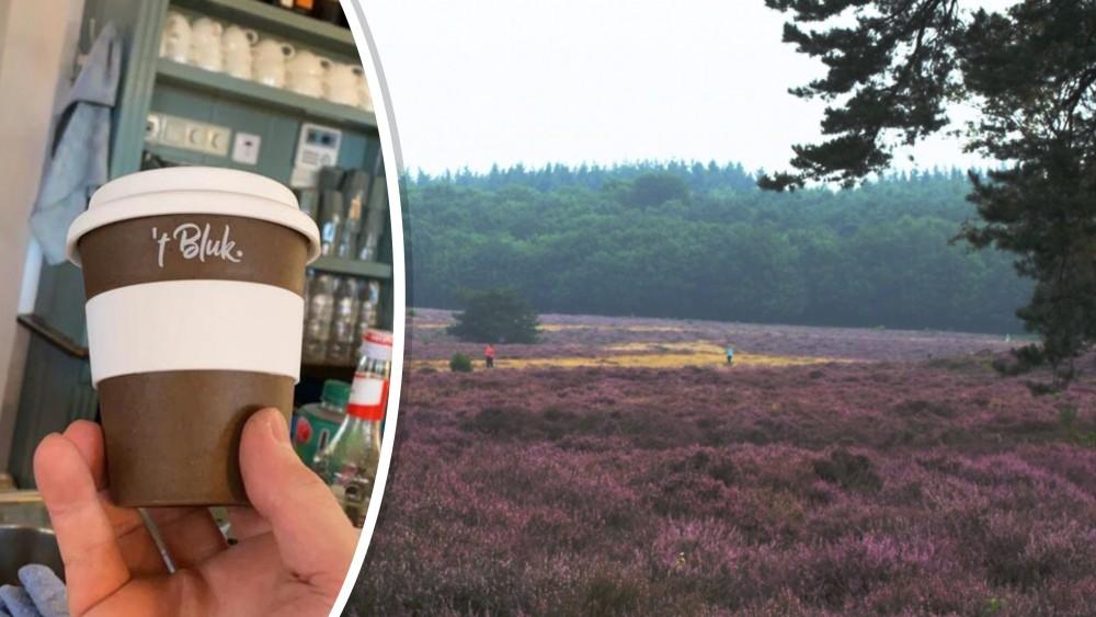 Goois Natuurreservaat in actie tegen wegwerpbekers in de natuur