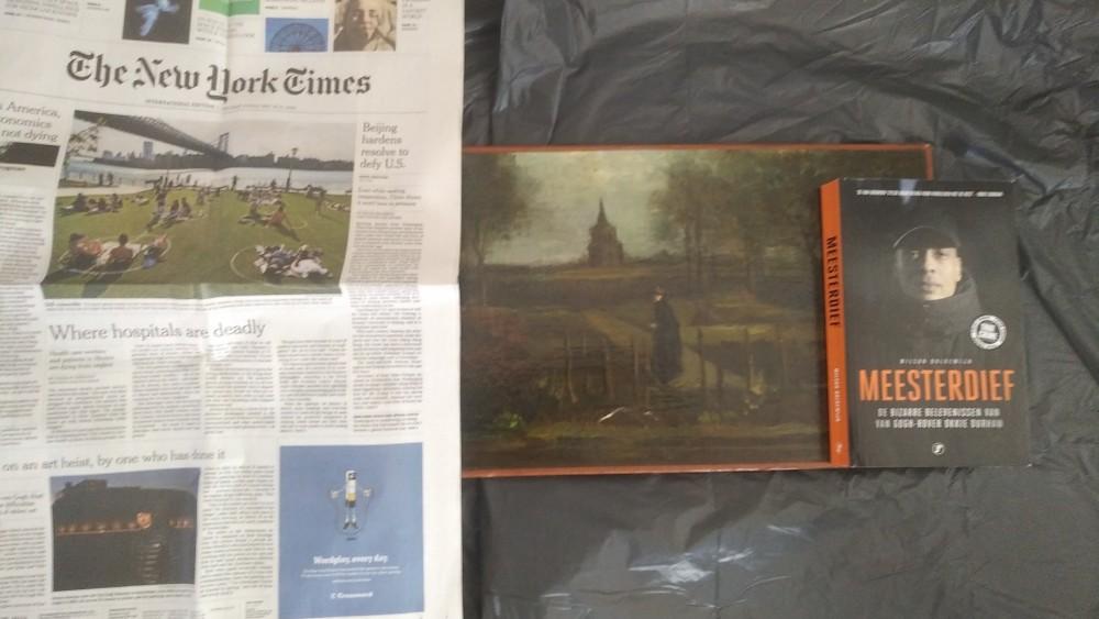 Kunstdetective Brand op het spoor van uit Museum Singer Laren gestolen Van Gogh