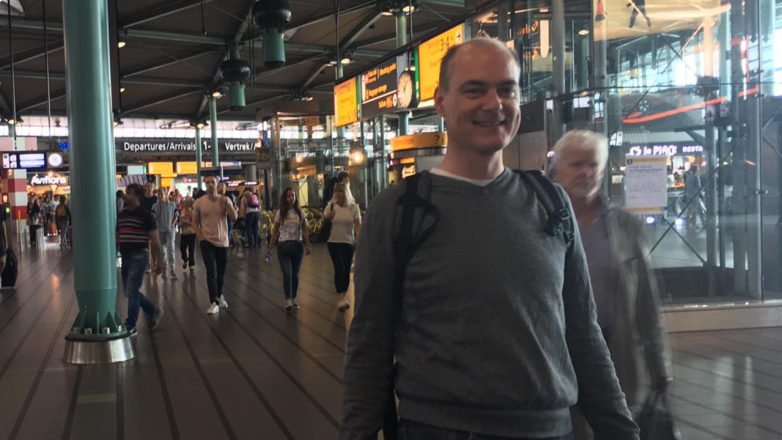 Grote zorgen om vermissing Weesper Pieter Houtekamer (47)