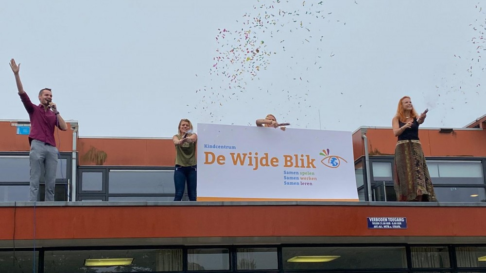 Schooljaar feestelijk geopend in Hilversumse wijk Kerkelanden