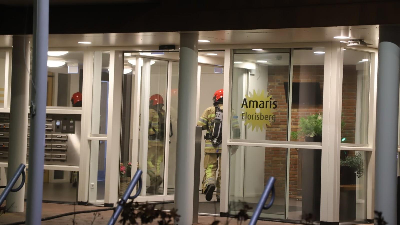 Bewoner Muiderbergs zorgcentrum kwam niet om door brand, maar stierf natuurlijke dood