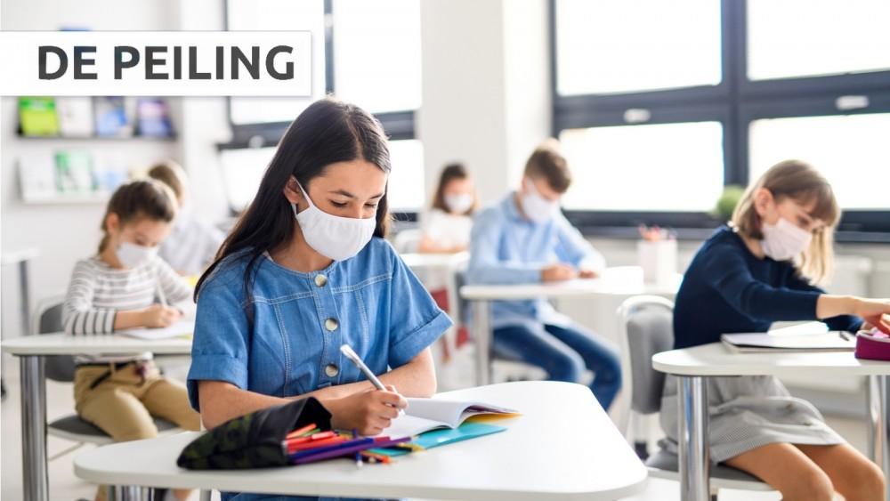De Peiling: Mondkapjes op alle scholen verplichten?