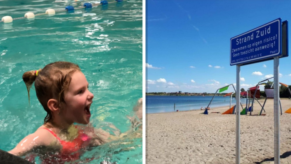 """Zwemlessen en toezicht zijn ó zo belangrijk: """"Let op je kinderen!"""""""