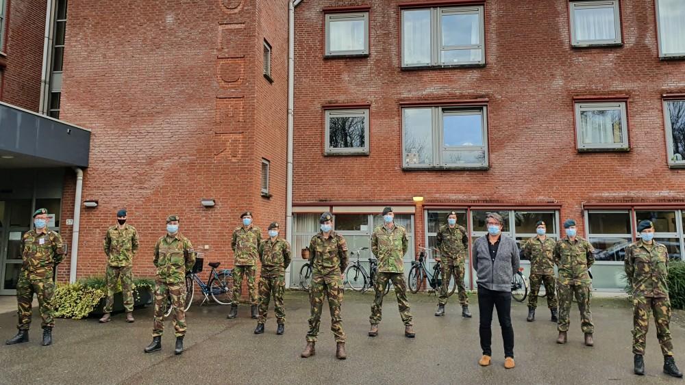 Eerst moest het leger helpen, nu gaat verpleeghuis De Bolder steeds verder open