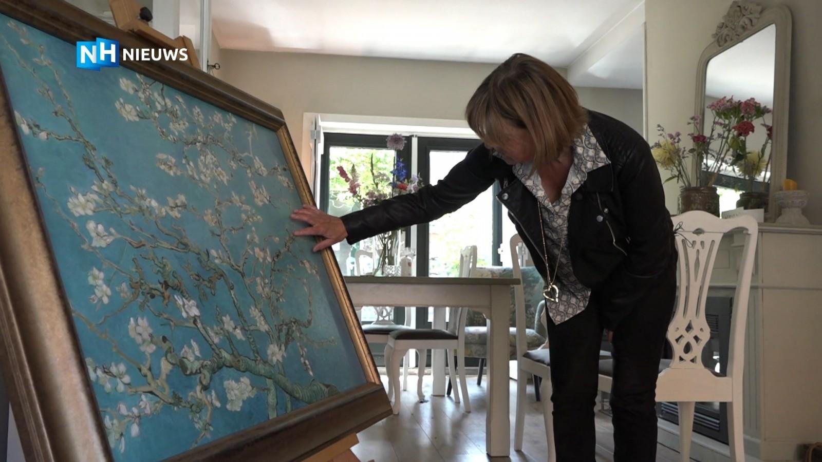 Bussumse verpleegkundige Saskia krijgt eigen meesterwerk van Van Gogh