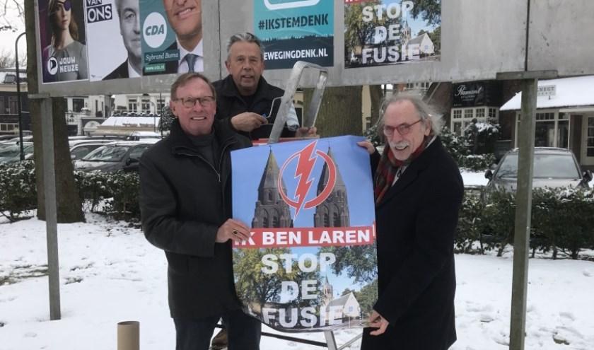 In Laren wordt al heel lang om behoud van de zelfstandigheid van het dorp gestreden. (Foto: Larens Behoud)