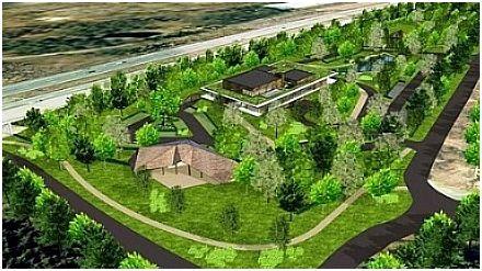 Het nieuwe crematorium