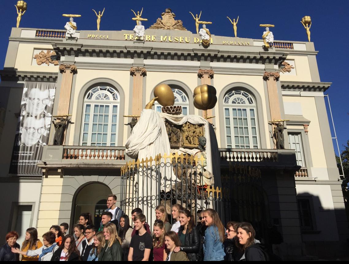 De Huizermaat leerlingen in Sitges