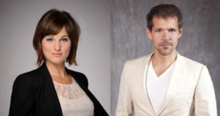 Brigitte Heitzer en René van Kooten